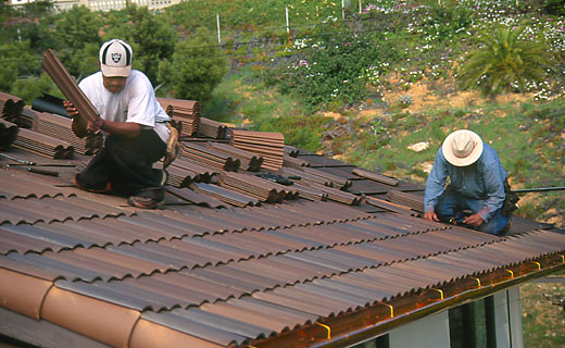 Installing Clay Tile