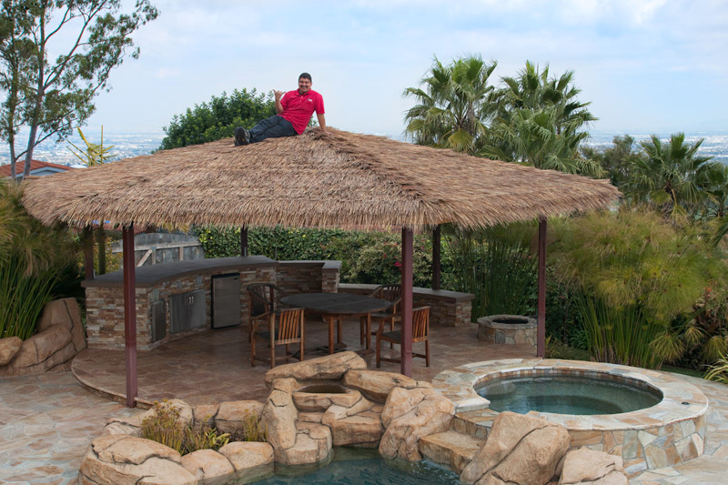 Thatched Roof : Rancho Palos Verdes