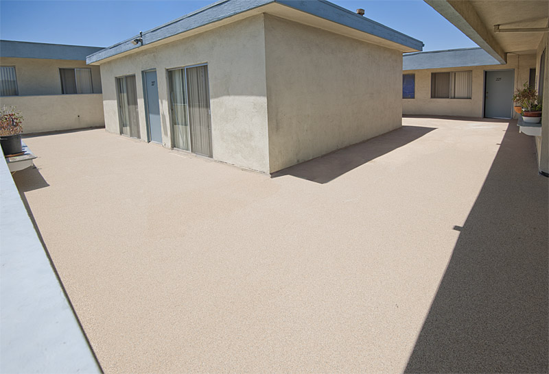 Apartment Patio Repair and Waterproofing in Inglewood