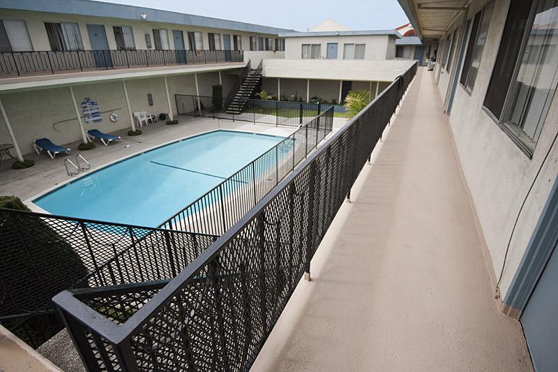 Navarro Roofing : Apartment Balcony Walkway Waterproofing ...