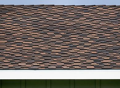 High Durability Asphalt Shingle, Detail Of Composite Shingle Pattern
