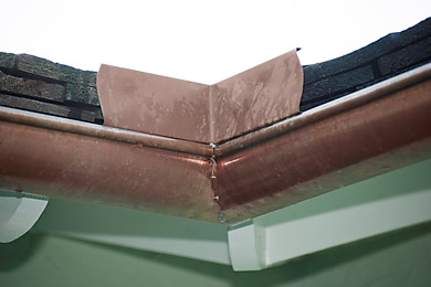 Navarro Roofing Custom Copper Gutters And Accessories