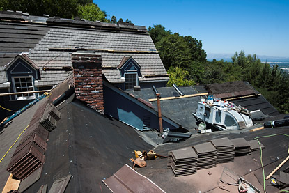 Wood Shake Roof Replaced With Concrete Tile Sherman Oaks