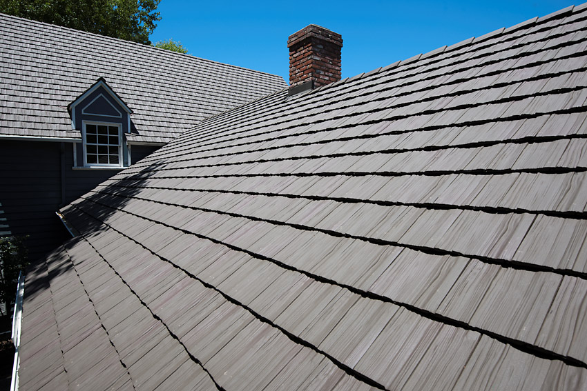 Monterey™ Shake 600 clay tile, Cheviot Hils, Los Angles