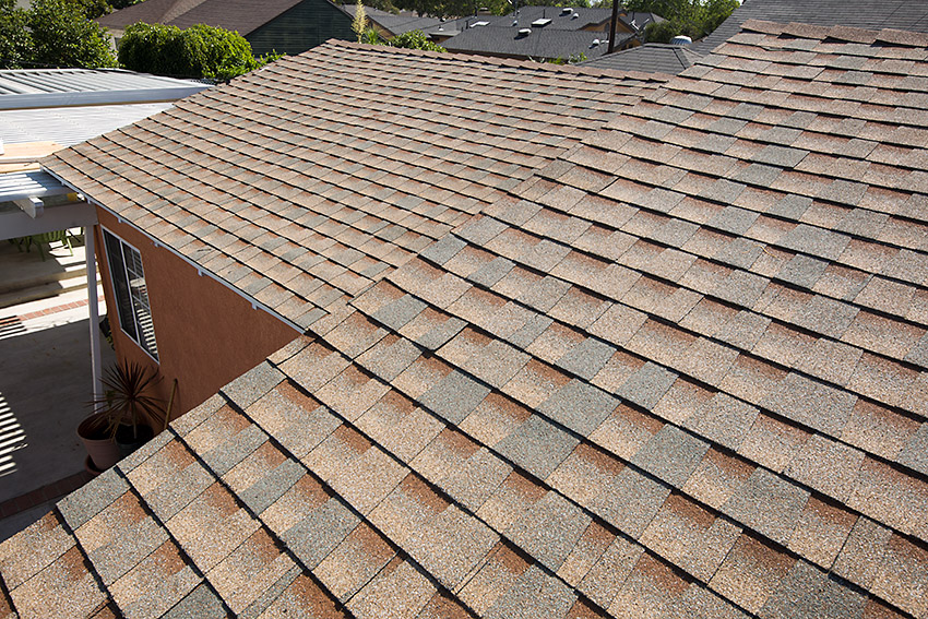 High Profile Asphalt Shingle Roof North Long Beach