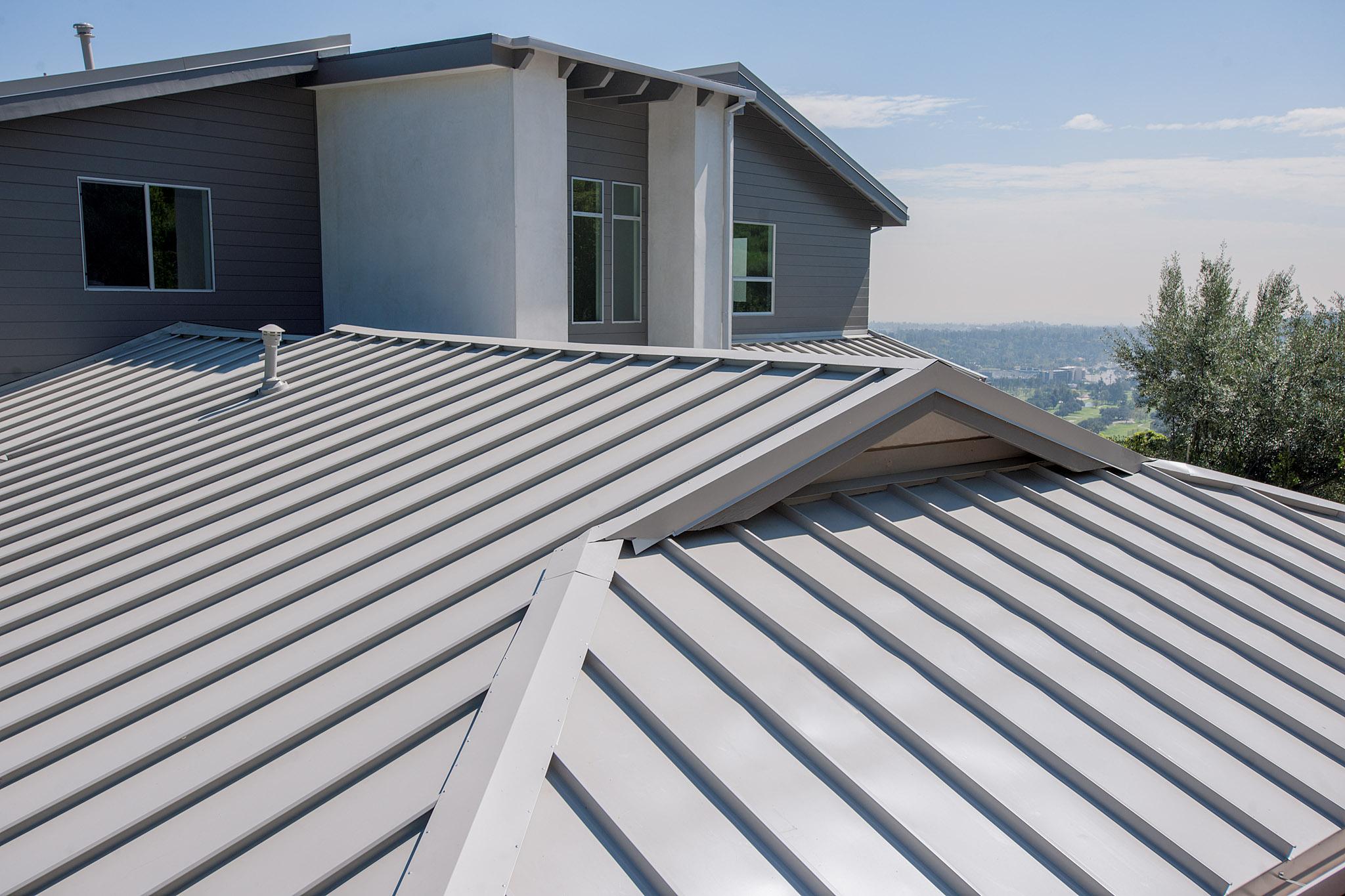 Standing Seam Roof Pasadena Roofing Installation