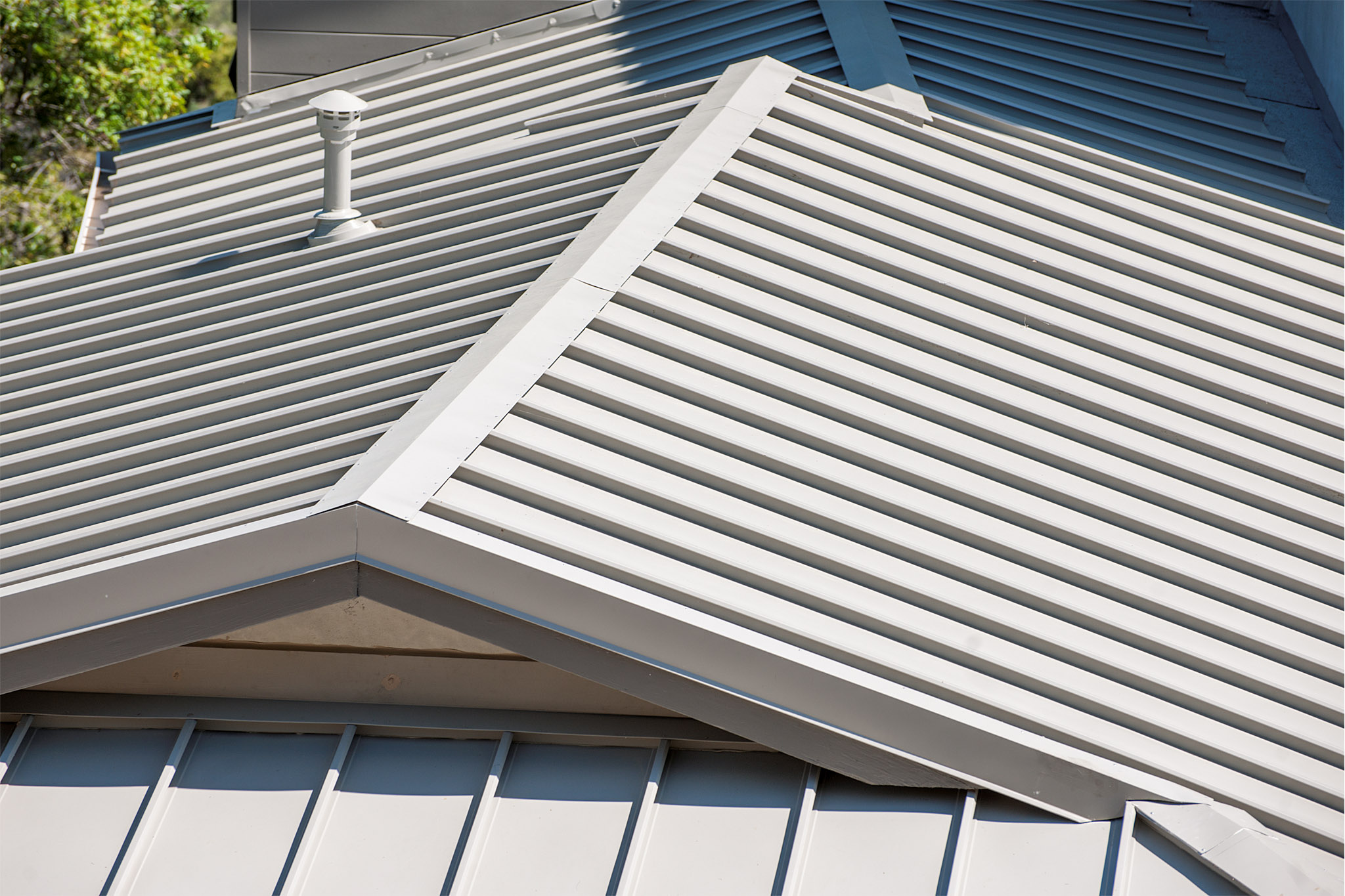 Standing Seam Roof, Pasadena, California