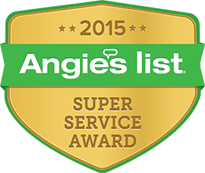 Angie's List Super Service, preferred contractor 2015