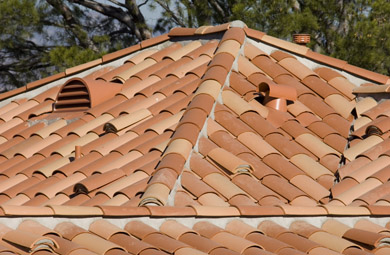 Navarro Roofing S Tile Roof With Boosters Studio City