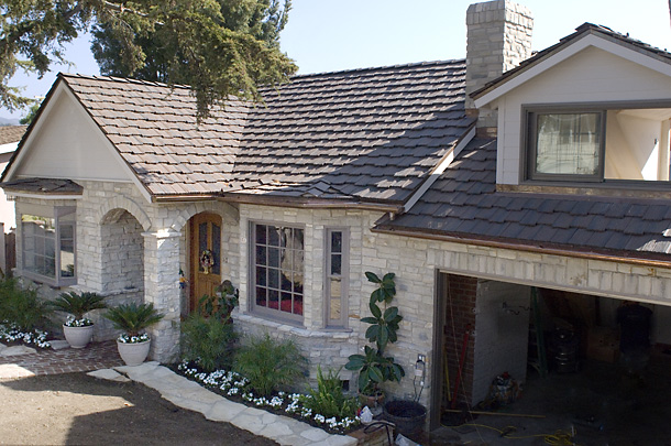 Navarro Roofing Staggered Roof Pacific Palisades