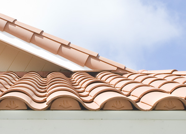 Roof Tile Decoration